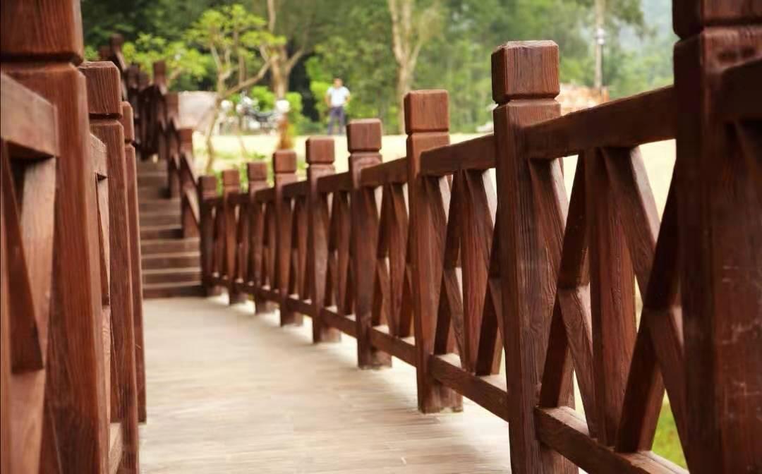 生态珍木栏杆,珍木地板